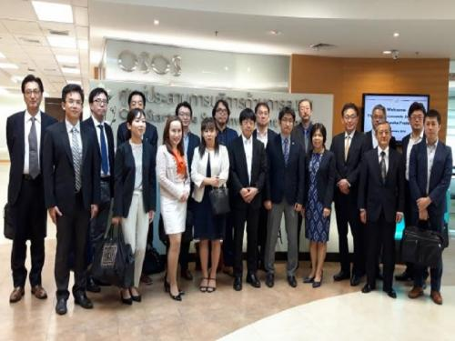 The Delegation from Fukuoka Prefecture January, 29